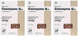 (3 PACK) - Wassen - Coenzyme Q10 + Vitamin E | 30's | 3 PACK BUNDLE