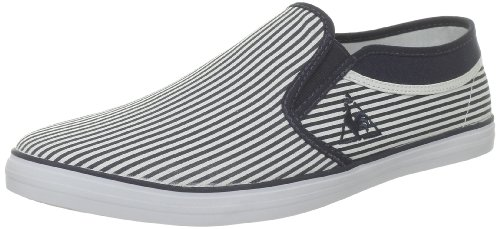 Le Coq Sportif Cabourg II Stripes, Zapatillas de Estar por casa Hombre, Eclipse, 46