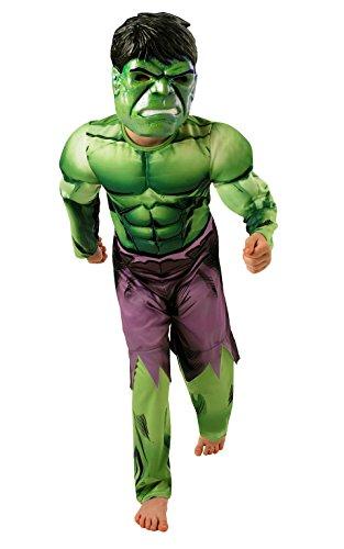 Hulk - Disfraz de niño, talla S (3-4 años) (Rubie'S Spain 889213-S)