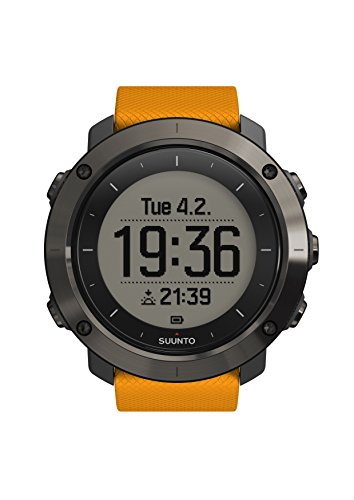 SUUNTO Traverse Amber GPS Outdoor Watch - AW16 - One - Orange