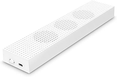MoKo Ventilateur Xbox One S, Intégré 3 Ventilateurs de la Haute Vitesse, 2 USB Ports, Vitesse L/H pour Xbox One S Gam...