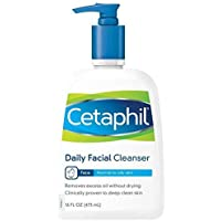 3-Count 2 -Pk. Cetaphil Daily Facial Cleansers + $5 GC
