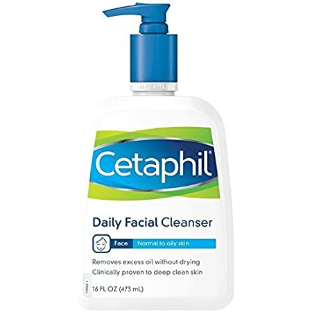 Cetaphil Daily Facial Cleanser For Normal To Oily Skin, 16 oz by Cetaphil