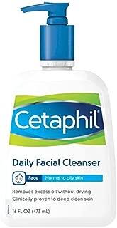 Cetaphil Daily Facial Cleanser, 16 oz