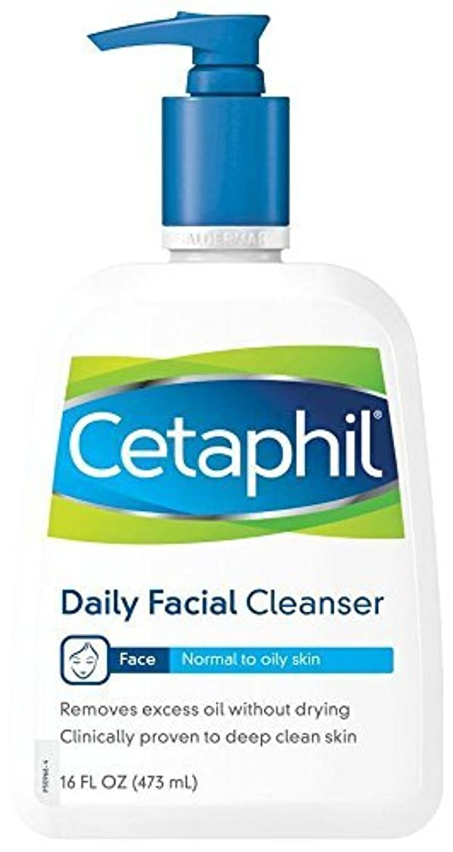 ハグ外交副産物海外直送品Cetaphil Cetaphil Daily Facial Cleanser For Normal To Oily Skin, 16 oz