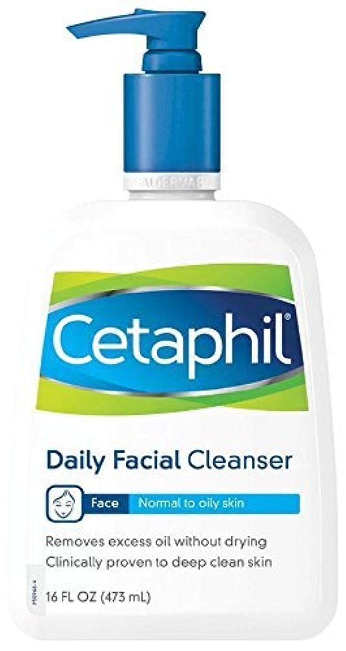 エンターテインメントクラックポットクライアント海外直送品Cetaphil Cetaphil Daily Facial Cleanser For Normal To Oily Skin, 16 oz
