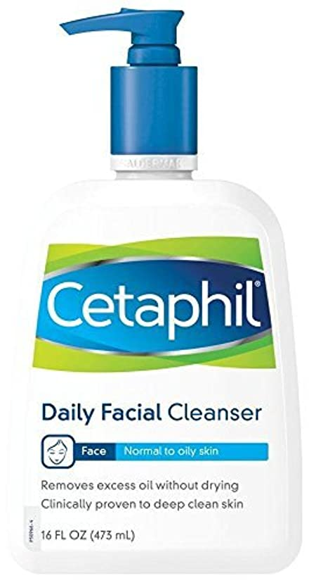 武装解除改善するヤング海外直送品Cetaphil Cetaphil Daily Facial Cleanser For Normal To Oily Skin, 16 oz