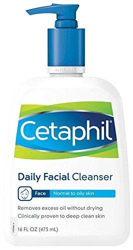 Cetaphil Limpiador facial para pieles normales y grasas 470 ml