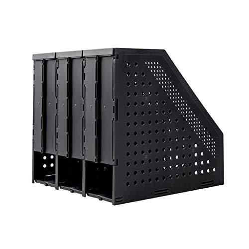 Schreibtisch Organisator Folding Datei-Frame-File Folder Storage Box Teleskopbücherregal Desktop-Buch-Standplatz Einfaches Desktop Office Vertikal Dateiinformationen rack Ordner-Ablagesysteme