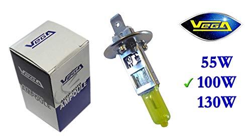 1 ampoule Vega® Jaune ancien H1 100W P14.5s Marque Française 12V