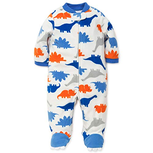 Little Me Baby Boys' Blanket Sleepers, Dino Print, 9 Months