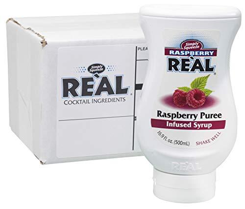 Raspberry Puree Infused Syrup