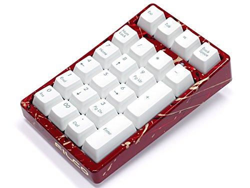 FILCO Majestouch TenKeyPad 2 Professional使用 テンキー工房 越前漆塗りモデル 漆・しぶき塗り(赤) Cherry MX SILENTスイッチ USBポータブルメカニカルテンキーパッド ホワイト FTKP22MPS/MW2-SR