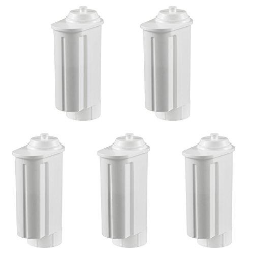 5 Wasserfilter Patronen passend für alle Siemens/Bosch Gaggenau-, Neff-,VeroBar-Professional-Serie Kaffeevollautomaten
