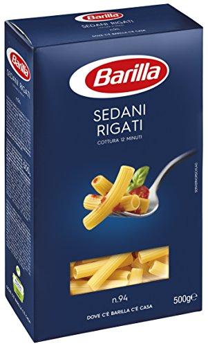Barilla - Sedani Rigati, Cottura 12 Minuti - 10 pezzi da 500 g [5 kg]