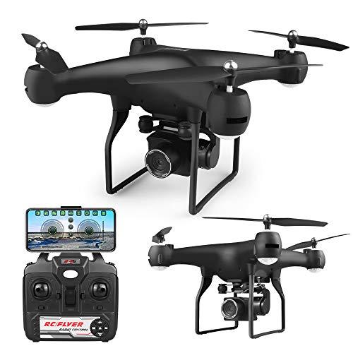 Goolsky F68 RC 4K Drohne mit Kamera Geste Foto Video Track Flug 3D Flip Höhe Halten 25 Minuten Flugzeit WiFi RC Quadcopter