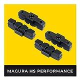 Magura HS Platin de Frein 2 Paire HS11 HS22 HS24 HS33 HS 33 RE HS 33 R Urban HS 33 R Trial HS 33 R Firmtech HS 33 R HSI I Haute Performance I Durable & Ajustement Parfait I Plaquette de Frein