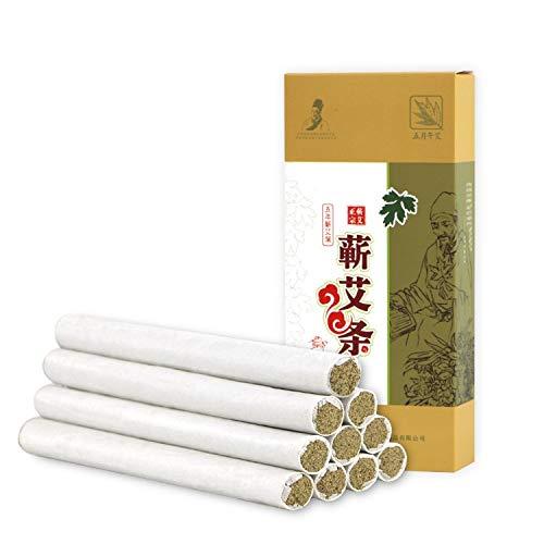 Palitos de Moxa, 3 Piezas De 5 Años De Moxa Rolls - Cigarros Puros Chinos Moxa Usando Natural Salvaje Artemisa Manual De Salud De Gaza Moxibustión Moxa Moxa Columna