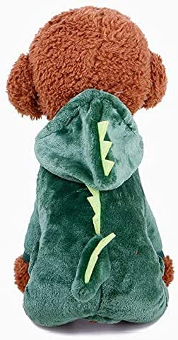 LRPXB Autumn Winter Pet Dog Cloth Limited time for free shipping Fleece Clothes Dinosaur Coral Fixed price for sale