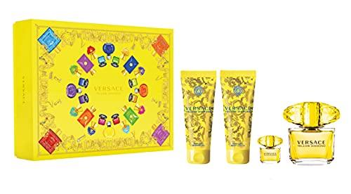 Versace EDT Yellow Diamond 4PCS Gift Set