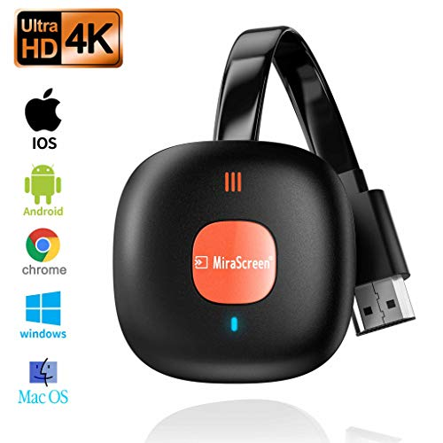 Wireless Display Dongle Adapter,SOCLL Wireless HDMI Adapter,4K WiFi Streaming Video Receiver for iPhone/iPad/iOS/Android/PC/MacOS to TV/Projector/Monitor, Support Miracast, DLNA, Airplay.Mirror screen