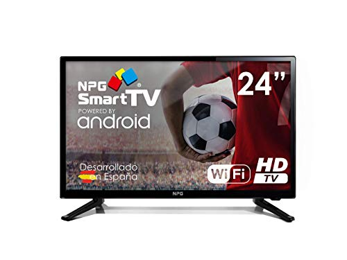 Smart TV NPG 24 pollici Android HD DVB-T2 WiFi PVR