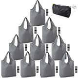 Xlarge Grocery Bags Reusable Washable Foldable 50LBS 10 Pack folding Reusable Shopping Bags