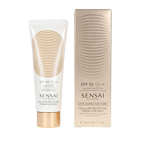Sensai Silky Bronze Cellular Protective Cream for Face SPF 50, 50 ml