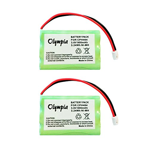 QBLPOWER MBP33 MBP36 Battery Compatible with Motorola Baby Monitor MBP33S MBP33PU MBP33BU MBP33P MBP36PU MBP35 MBP41 900mAh 3.6V