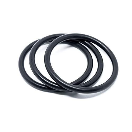 20 Pcs O-ring 31.34 mm x 38.4 mm x 3.53 mm | EPDM Kautschuk Dichtungsringe Dichtung Gummidichtung O-ring 31.34x3.53-70 ShA - Dichtungen Gummiringe Set O-ringe Sortiment Dichtungssatz
