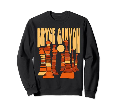 Bryce Canyon National Park Vintage Hoo Doo Retro Graphic Sudadera
