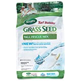 Scotts 18320 Turf Builder Grass Seed Tall Fescue Mix, 3 Lbs