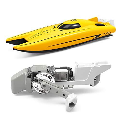 MKZDGM Elektisches Rennboot, Wind-up Power Boot, Spielzeug für Freischwimmbad, Mini-Boot,Generator-Aggregat, Wissenschaftskit,Babybadespielzeug & Kleinkinderspielzeug,STEM Spielzeug Bildungsgeschenk