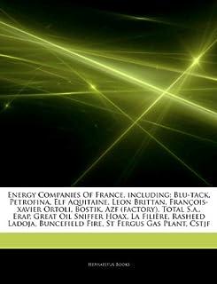 Articles on Energy Companies of France, Including: Blu-Tack, Petrofina, Elf Aquitaine, Leon Brittan, Fran OIS-Xavier Ortoli, Bostik, Azf (Factory), To
