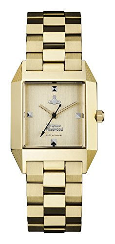 Vivienne Westwood Womens Analogue Classic Quartz Watch with Stainless Steel Strap VV143GDGD