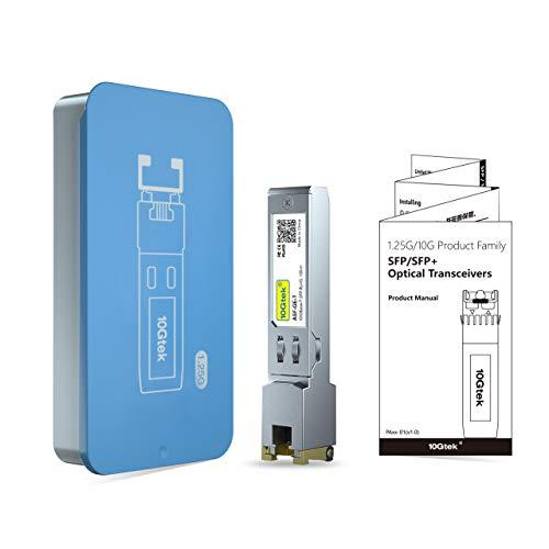 『1.25G SFP-T, 1000Base-T カッパーSFP, SFP to RJ45 SFP, 光トランシーバ, Cisco GLC-T/SFP-GE-T、Meraki MA-SFP-1GB-TX、Netgear、Ubiquiti UF-RJ45-1G、D-Link、Supermicro、TP-Link、Broadcomなど互換』の5枚目の画像