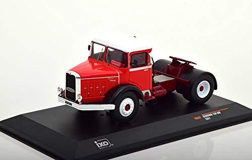 FIAT 619 N1 1980 RED 1:43 Ixo Model Camion Die Cast Modellino