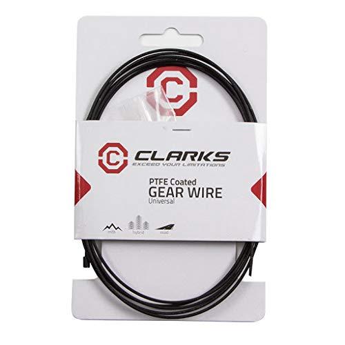 Clarks Fahrrad-Schaltzug, Teflon, 227,5 cm, Schwarz