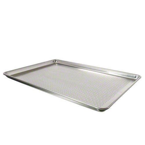 Vollrath 17-3/4' x 25-3/4' Perforated Full Size Sheet Pan - Wear-Ever Collecti