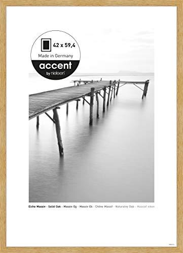 Nielsen Accent Holz Bilderrahmen Scandic, 42x59,4 cm (A2), Eiche