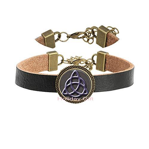Holiday gift Celtic Bracelet,Celtic Knot Minimalist Bracelet,Celtic Triangle,Celtic Knot,Celtic Bracelet,Trinity Symbol,Men's Bracelet.HTY-025