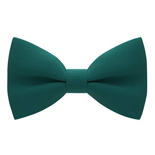 Papillon elegante, per adulti e bambini, stile classico verde acqua S