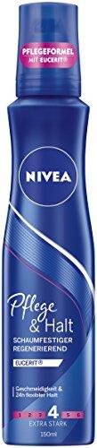 NIVEA Schaumfestiger, Extra Stark, 150 ml Dose, Pflege & Halt