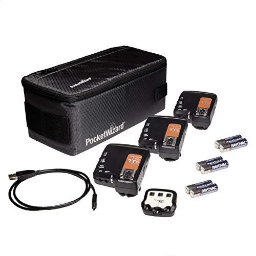 PocketWizard FlexTT6 for Canon Bonus Kit to Trigger Remote Flashes (TTL or Manual) or Remote Cameras