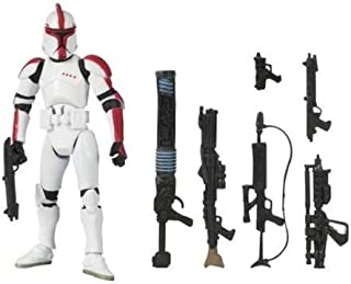 Star Wars Clone Wars Saga Legends Action Figure SL No. 12 Clone Trooper Officer (style and colors may vary)
