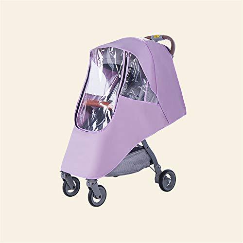 Huir Toldo de cochecito de bebé, cubierta de lluvia para cochecito, parasol universal para cochecito, paraguas móvil para cochecito