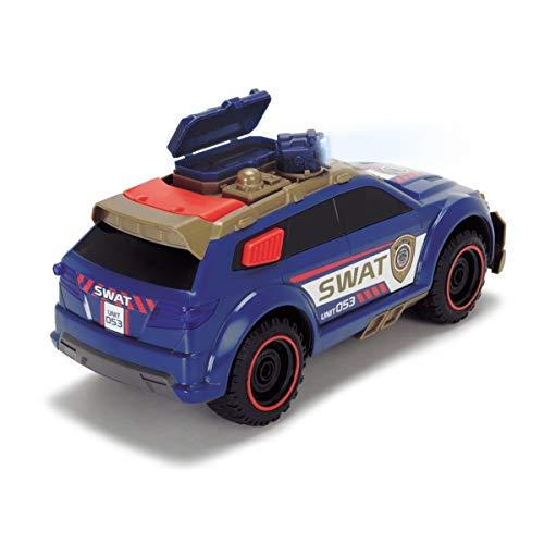 Dickie Toys 203308380 City Protector SWAT-Einsatzfahrzeug mit Verwandlungsfunktion, 33cm