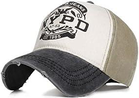 Perlotus Nypd Şapka Cap Şapka Eskitme Tasarım 2021 Model Yeşil