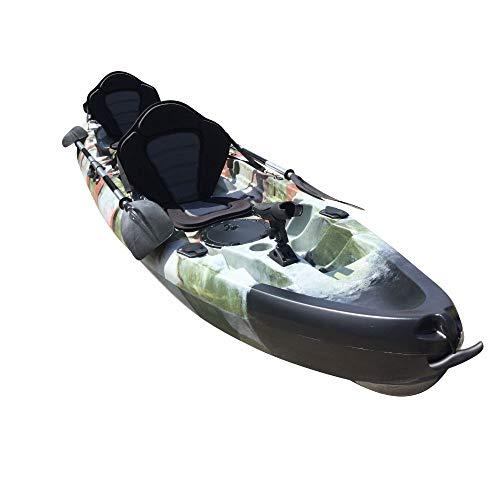 Cambridge Kayaks ES, Sun Fish TÁNDEM SÓLO 2 + 1,Selva, RIGIDO