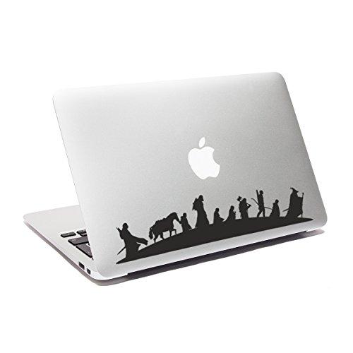 Ericraft De Señor anillos - Adhesivo para ordenador portátil, pegatina o sticker para portátil. Vinilo para portátiles